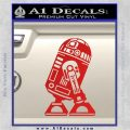 Robot D2 Neat Decal Sticker Red Vinyl 120x120