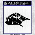 Snow Speeder Decal Sticker Space Battle Spaceship Black Vinyl Logo Emblem 120x120