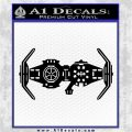 Spaceship DTB Decal Sticker D2 Black Vinyl Logo Emblem 120x120