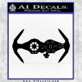 Spaceship DTB Decal Sticker Space Battle rr Black Vinyl Logo Emblem 120x120