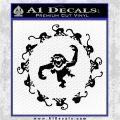 12 Monkeys Decal Sticker CR Black Vinyl Logo Emblem 120x120