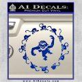 12 Monkeys Decal Sticker CR Blue Vinyl 120x120