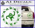 12 Monkeys Decal Sticker CR Green Vinyl 120x97