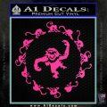 12 Monkeys Decal Sticker CR Hot Pink Vinyl 120x120