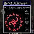 12 Monkeys Decal Sticker CR Pink Vinyl Emblem 120x120