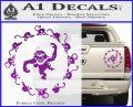 12 Monkeys Decal Sticker CR Purple Vinyl 120x97