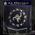 12 Monkeys Decal Sticker CR Silver Vinyl 120x120