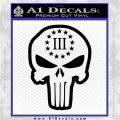 3 Percenter Skull Decal Sticker DO Black Vinyl Logo Emblem 120x120