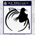 Accel World Kuroyukihime Decal Sticker Black Vinyl Logo Emblem 120x120