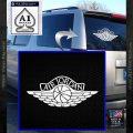 Air Jordan Decal Sticker INT White Vinyl Emblem 120x120