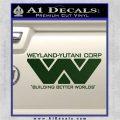 Alien Movie Decal Sticker Weylan Yutani Corp Dark Green Vinyl 120x120