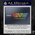 Alien Movie Weylan Corp Decal Sticker D1 Sparkle Glitter Vinyl Sparkle Glitter 120x120