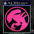 Alien Movie Xenomorph Decal Sticker CR2 Hot Pink Vinyl 120x120