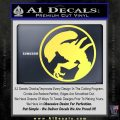 Alien Movie Xenomorph Decal Sticker CR2 Yellow Vinyl 120x120