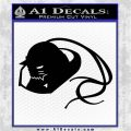 Alphonse Elric Decal Sticker Black Vinyl Logo Emblem 120x120