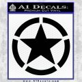 Ammo Star VN Decal Sticker Black Vinyl Logo Emblem 120x120