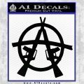 Anarchy AK 47s Decal Sticker Black Vinyl Logo Emblem 120x120