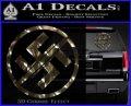 Anti Nazi No Nazis Allowed Decal Sticker Logo Emblem 120x97