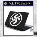 Anti Nazi No Nazis Allowed Decal Sticker White Vinyl Laptop 120x120