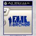 Archer Decal Sticker Title Spy FX Blue Vinyl 120x120