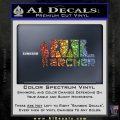 Archer Decal Sticker Title Spy FX Sparkle Glitter Vinyl Sparkle Glitter 120x120