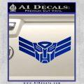 Autobot Elite Guard Decal Sticker Transformers Blue Vinyl 120x120