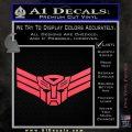 Autobot Elite Guard Decal Sticker Transformers Pink Vinyl Emblem 120x120