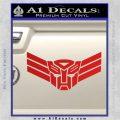 Autobot Elite Guard Decal Sticker Transformers Red Vinyl 120x120