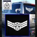 Autobot Elite Guard Decal Sticker Transformers White Vinyl Emblem 120x120