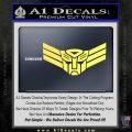 Autobot Elite Guard Decal Sticker Transformers Yellow Vinyl 120x120