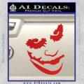 Badman Villain DJ Why So Serious Decal Sticker Red Vinyl 120x120