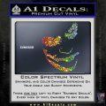 Badman Villain DJ Why So Serious Decal Sticker Sparkle Glitter Vinyl Sparkle Glitter 120x120