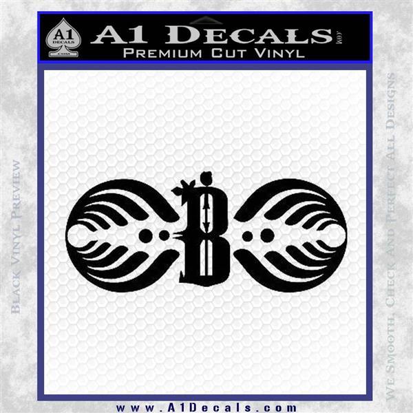 "12/"" /""Bassnectar Family Crest /"" Vinyl Decal Sticker Truck Car Pc Wall"