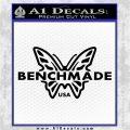 Benchmade Knives Butterfly DN1 Decal Sticker Black Vinyl Logo Emblem 120x120