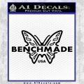 Benchmade Knives Butterfly DN2 Decal Sticker Black Vinyl Logo Emblem 120x120