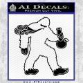 Bigfoot Bong Weed Big Foot Decal Sticker Black Vinyl Logo Emblem 120x120