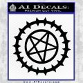 Black Butler Sebastian Contract Seal Black Vinyl Logo Emblem 120x120