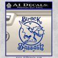 Black Sabbath Decal Sticker Full Blue Vinyl 120x120