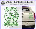 Black Sabbath Decal Sticker Full Green Vinyl 120x97