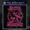 Black Sabbath Decal Sticker Full Hot Pink Vinyl 120x120