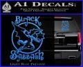 Black Sabbath Decal Sticker Full Light Blue Vinyl 120x97