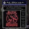Black Sabbath Decal Sticker Full Pink Vinyl Emblem 120x120