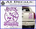 Black Sabbath Decal Sticker Full Purple Vinyl 120x97