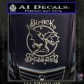 Black Sabbath Decal Sticker Full Silver Vinyl 120x120