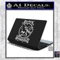 Black Sabbath Decal Sticker Full White Vinyl Laptop 120x120
