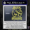 Black Sabbath Decal Sticker Full Yellow Vinyl 120x120