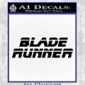 Blade Runner Decal Sticker Title Black Vinyl Logo Emblem 120x120