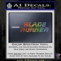 Blade Runner Decal Sticker Title Sparkle Glitter Vinyl Sparkle Glitter 120x120