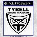 Blade Runner Decal Sticker Tyrel Corp Black Vinyl Logo Emblem 120x120