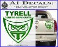 Blade Runner Decal Sticker Tyrel Corp Green Vinyl 120x97